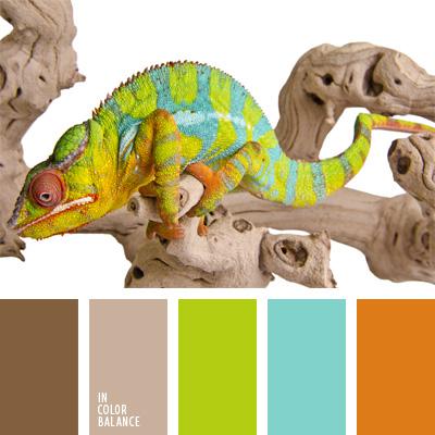 Цветовая палитра №252