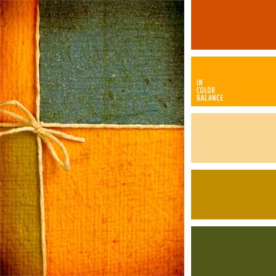 Цветовая палитра №587