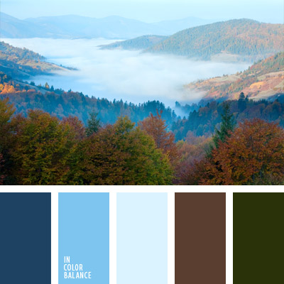 Цветовая палитра №592