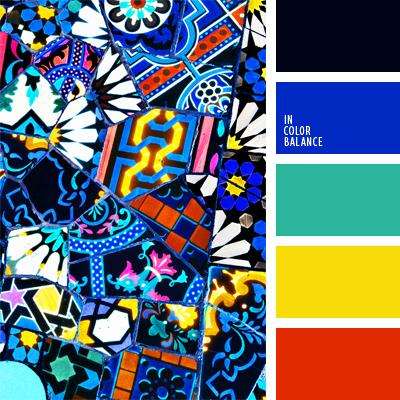 Цветовая палитра №632