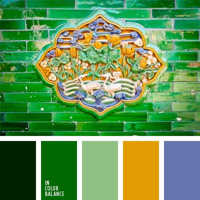 Цветовая палитра №667