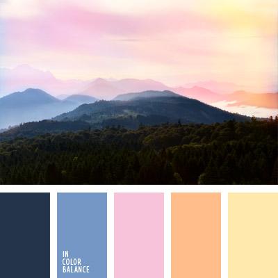 Цветовая палитра №724