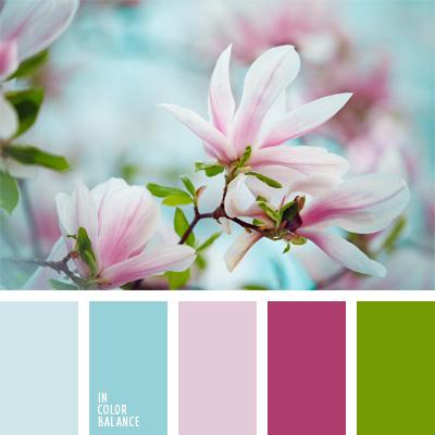Wandfarben palette pastell