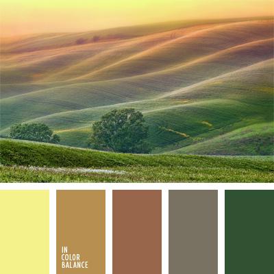 Цветовая палитра №912