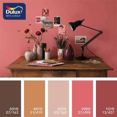 Цветовая палитра красок DULUX