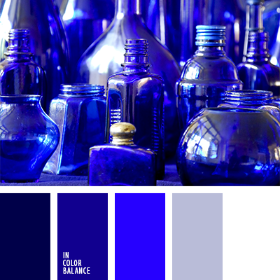 Синие стекло