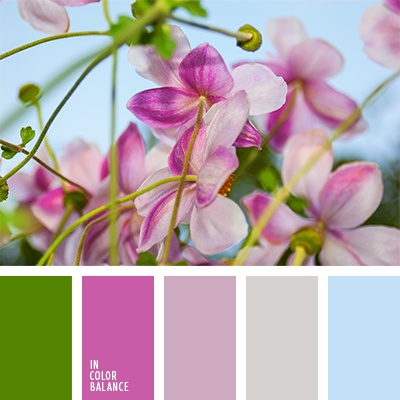 Цветовая палитра №1289