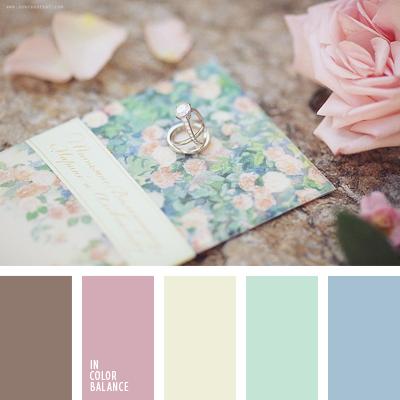 Цветовая палитра №1606