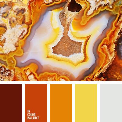 Цветовая палитра № 1672