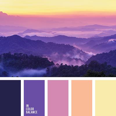 Цветовая палитра №1751
