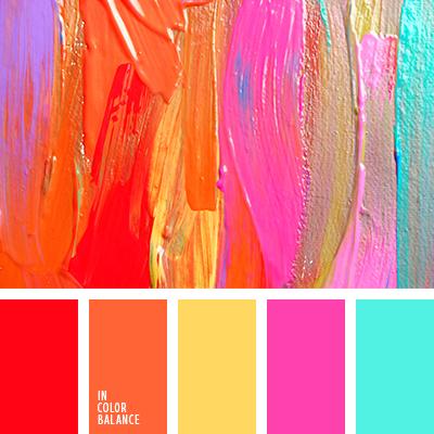 Цветовая палитра №2095