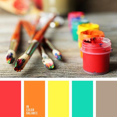 Цветовая палитра №2346
