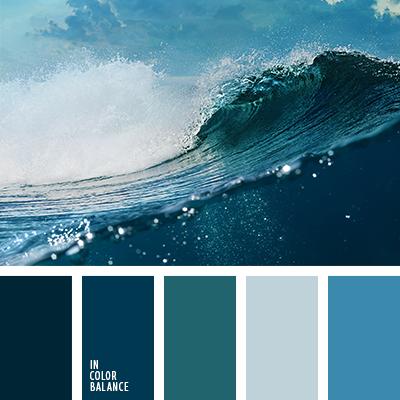 Цвет синий морской
