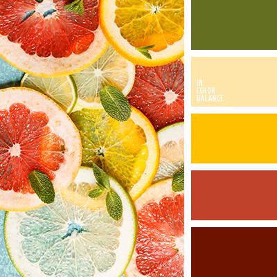 Цветовая палитра №2682
