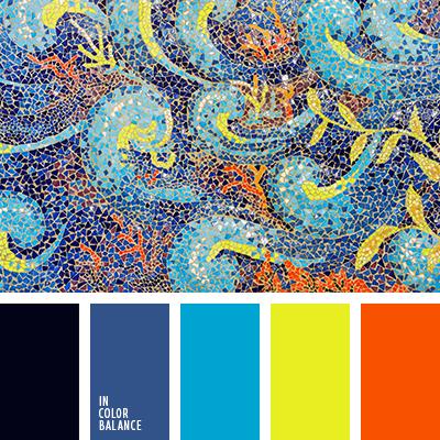 Цветовая палитра №2704