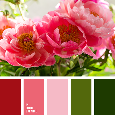 Цветовая палитра №3322