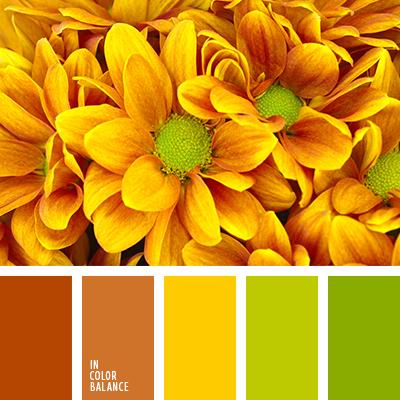 Цветовая палитра №3376