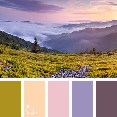 Цветовая палитра №3394