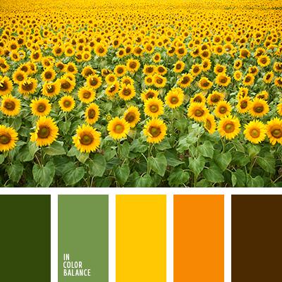 Цветовая палитра №3397