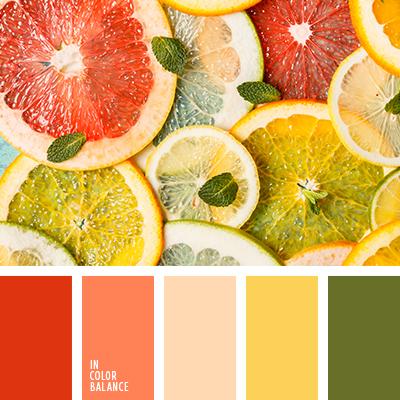 Цветовая палитра №3415