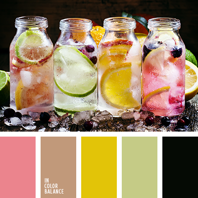 Цветовая палитра №3446