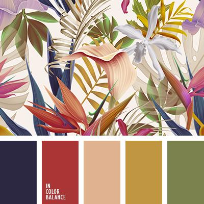 Цветовая палитра №3551