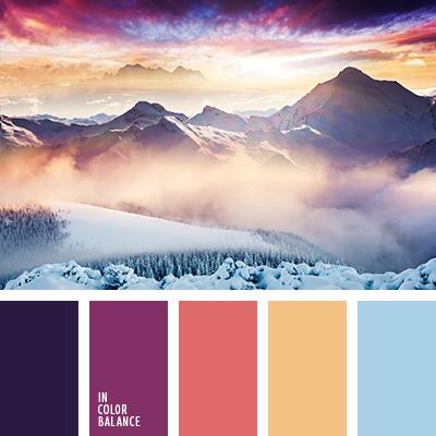 Цветовая палитра №3653