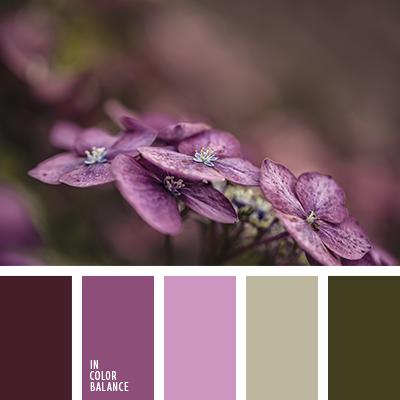 Цветовая палитра №3732