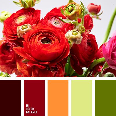 Цветовая палитра №4036