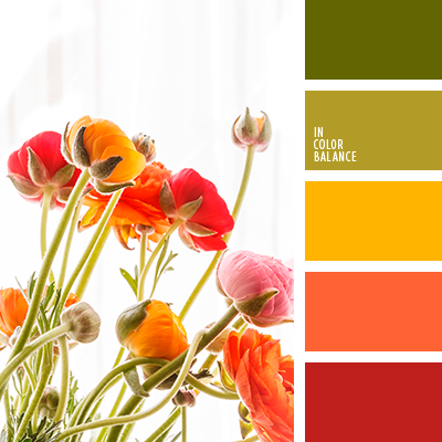 Цветовая палитра №4043